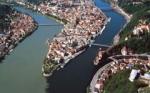 Welche 3 Flüsse fließen durch Passau?