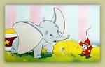 Wie heißt die kleine Maus, die Dumbo hilft, das Fliegen zu lernen?