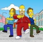 Was haben Homer und Barney in der Gong Show für ein Lied gespielt!