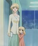Was ist an Momijis Mutter speziell?