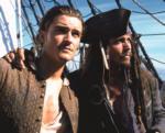 """Johnny Depp spielt im Film """"Fluch Der Karibik"""" den Waffenschmied """"William Turner""""."""