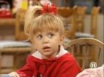 """Was sagt Michelle in der Folge """"Der tollkühne Jesse"""", als der Welpe Comet ihr Eis frisst?"""