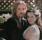 Wo lernte sie ihren Ehemann David mit dem sie auch ihren ersten Sohn bekam kennen?