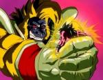 """Als Son - Goku die Deathball - Attacke von Baby abwehrt, was antwortet Goku ihm, als Baby entsetzt fragt,, was - bist du! """""""