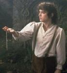 Frodo hat einen der Ringe von seinem Großvater bekommen..