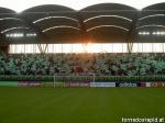 Was ist die Hauptfantribüne im Hanappi Stadion?