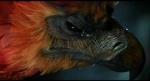 """Fawkes rettet Harry in der """"Kammer des Schreckens"""" das Leben."""