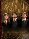 Die Karte des Rumtreibers zeigt ganz Hogwarts und all seine Bewohner.