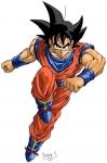 Warum gibt Son - Goku bei den Cell spielen freiwillig auf?