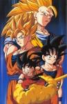 Wer lag als Baby neben Son - Goku und wurde zurselben Zeit geboren?