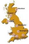 Wie viele internationale Airports besitzt Großbritannien?