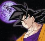 In wen verwandelt sich der kleine Son-Goku, wenn er in den Vollmond blickt?