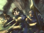 Wie heissen die drei Personen in die Squall und seine Gruppe manchmal eintauchen, und erleben was mit ihnen geschieht?