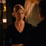 Als Buffy Giles erzählt hat das sie mit Spike geschlafen hat fingen beide an zulachen.