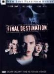 """Horror-Trailer. Der Film """"Final Destination"""" handelt von einem Jungen, der voraussieht, dass ein Bus explodieren wird und seine Freunde aus"""