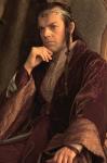 Herr Elrond kommt im 3. Film zu Aragorn und sagt ihm, dass Arwen im Sterben liegt. Er sagt Aragorn, dass jetzt wo Arwen sterblich ist, sie an das Schi