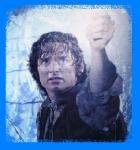 Was sagt Frodo als er Galadriels Phiole zum Leuchten bringt?