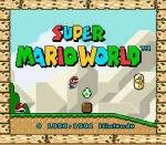 Wie nennt sich der Titel des Levels, der im Vorspann zu Super Mario World zu sehen ist?