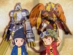 Wieviele Digitationen können Takuya und Kouji vollziehen?