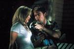 Mit was bekleckert Stifler Christy, als die beiden auf dem Liegestuhl sitzen und miteinander flirten?
