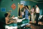 Was waren Jim's Dad erste Worte als er Jim mit einem Mädchen auf seinem Zimmer im Studentenwohnheim überrascht?