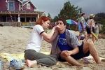 Warum besucht Jim Michelle im Ferienlager und bittet sie um Hilfe?