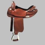 Wie nennt man die Fußstütze für einen Reiter, die in Höhe der Füße seitlich vom Pferd herabhängt?