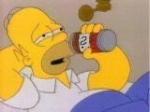 Wie heißt die Biermarke, die Homer bevorzugt drinkt?