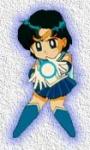 Welchen Angriffsspruch benutzt Sailor Merkur in der 1. Staffel?