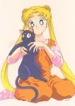 Wem gehört die sprechende, schwarze Katze Luna?