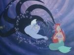 Welche Haarfarbe hat Arielle die kleine Meerjungfrau?
