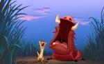 Wie heißt das Erdmännchen und das Warzenschwein aus König der Löwen?