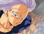 Wie verabschiedet sich Vegeta von Future Trunks,als dieser in seine Zeit zurück kehrt?