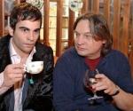Was tranken Bernd und David zusammen?