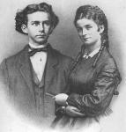 Wann hat sich Ludwig mit Herzogin Sophie verlobt?