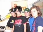 Alle vier Bandmitglieder sind miteinander verwandt.