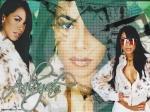 Wo steht ein Werbeplakat von Aaliyah's letztem Album, welches inzwischen zu einer Pilgerstätte für Fans geworden ist?