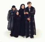 Die 4 Kinder heißen Susan, Lucy, Peter und Edmund.