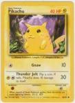 Wie heißt Pikachus Pokedexeintrag auf der Gelben Edition?