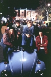 Also, fangen wir erstmal leicht an: Wie heißen die vier Bandmitglieder von Mystery?