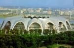 Das ist das Stadion von Pyönjang