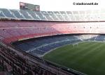 Das ist das Camp Nou Stadion.