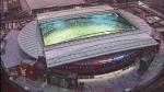 Das ist das Stadion von Melbourne.