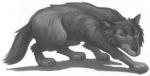 Hast du einen großen schwarzen Hund als Haustier?