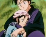 Wie heißt die kleine Freundin von Miroku? (ich hasse sie)