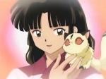 Sango hat einen Bruder, dessen Name Kohaku ist und von einem Juwelensplitter am Leben erhalten wird.