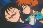 Miroku hatte eine kleine Freundin deren Name Koharu war.