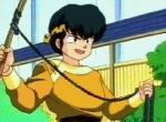 In was verwandelt sich Ryoga wenn er mit kaltem Wasser in Berührung kommt?