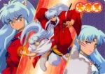 Sesshomaru hat zwei Schwerter.