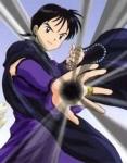 Wie spricht Miroku Kagome im Manga an?